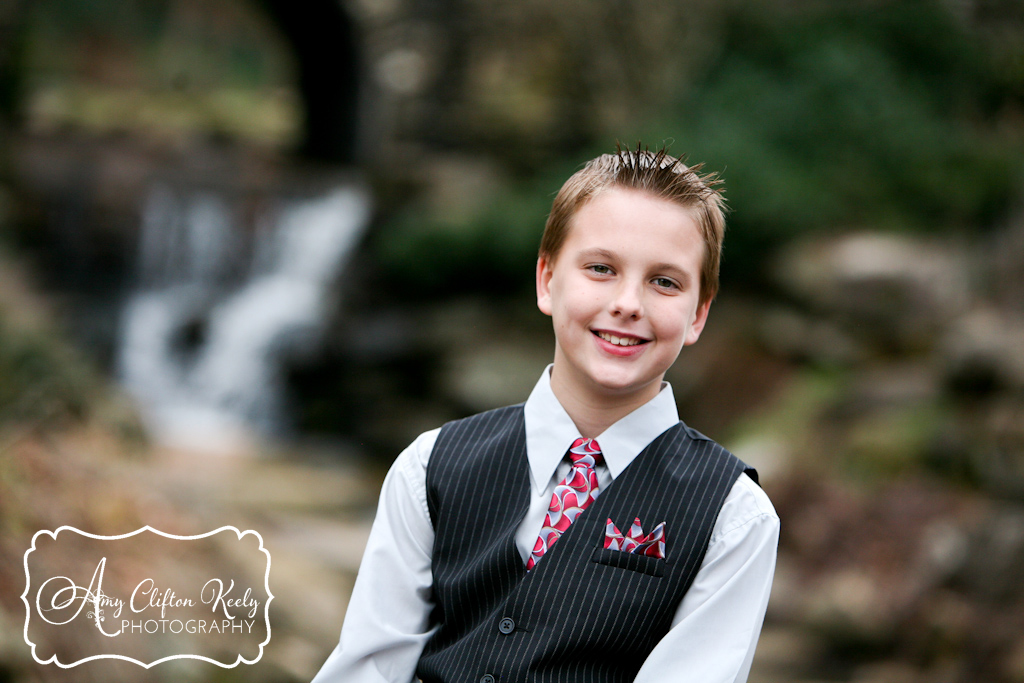 Falls Park Downtown Greenville SC Christmas Family Portraits 50th Anniversary Amy Clifton Keely Photography 11