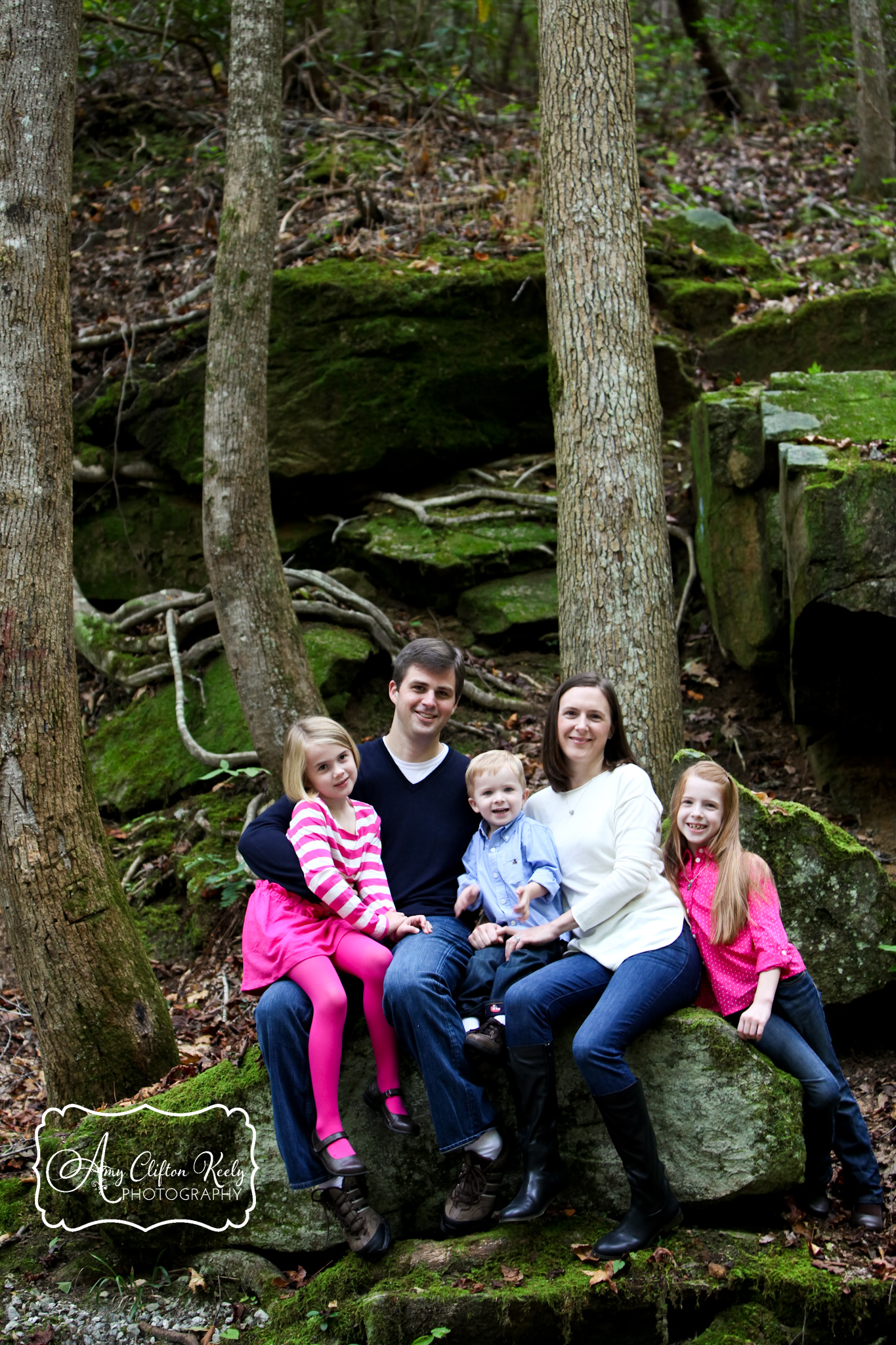 Poinsett Bridge Greenville SC Family Portraits Amy Clifton Keely Photography 01