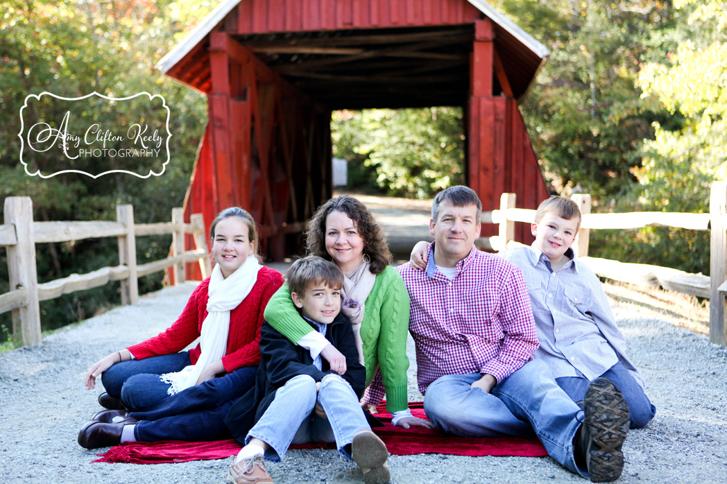 Campbells Covered Bridge Greenville SC Family Portrait Photography Amy Clifton Keely 08
